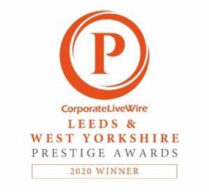 Corporate Live Wire Leeds & West Yorkshire Prestige Awards 2020 Winner logo